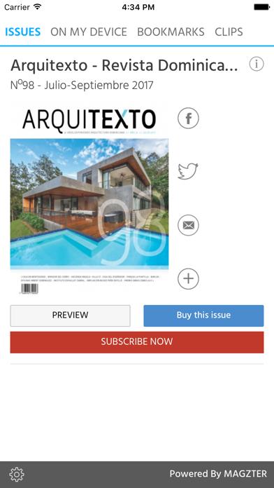 Arquitexto - Revista Dominican screenshot 1