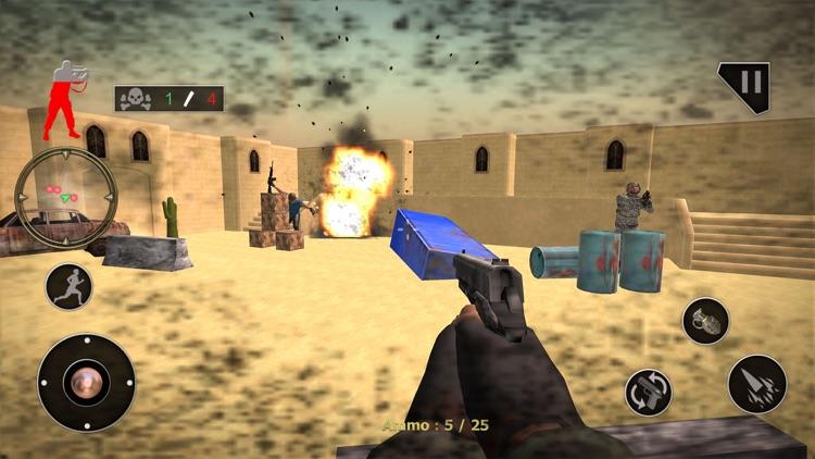 US Commando Sniper Strike 3D screenshot-3