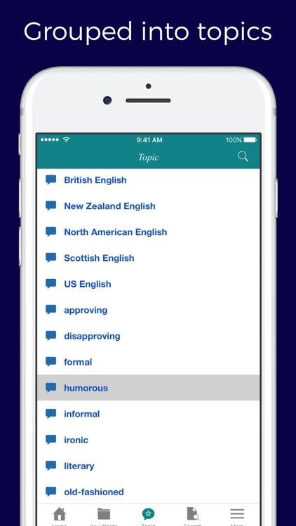 English Idioms and Slangs Dictionary screenshot-3
