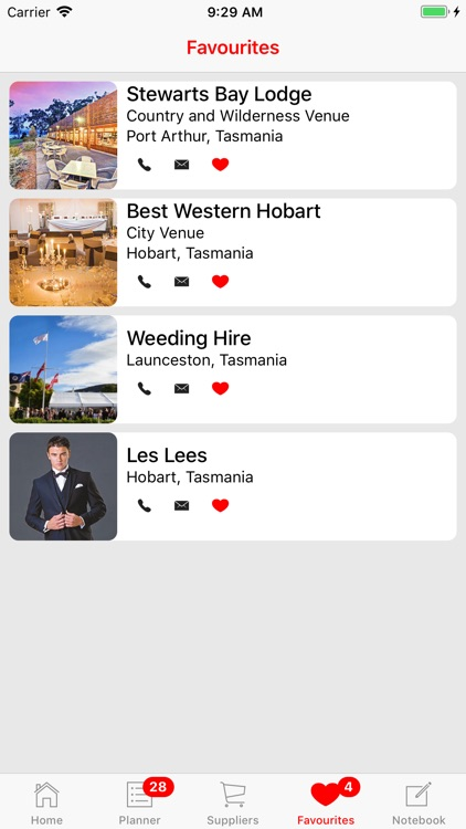 Weddings Tasmania Planner screenshot-5