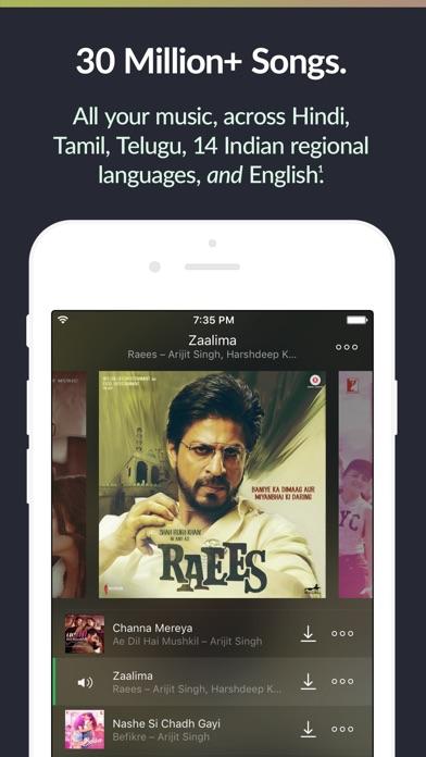 Saavn Music & Radio app image
