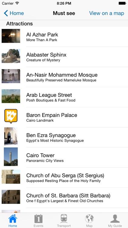 Cairo Travel Guide Offline screenshot-3