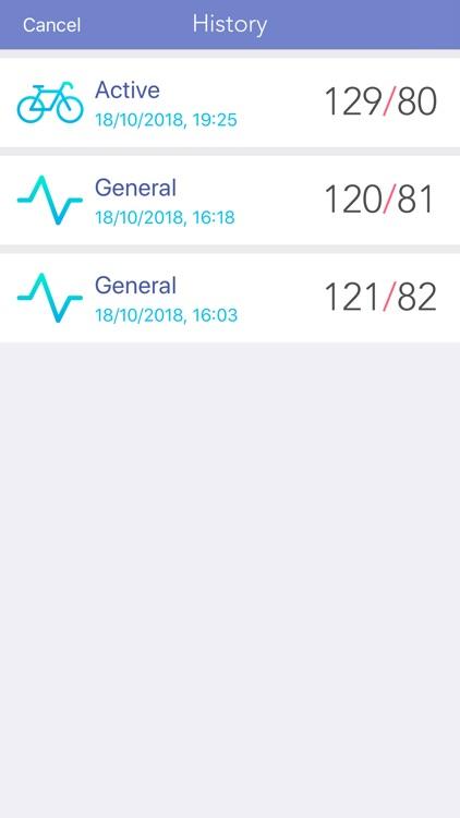BP Blood pressure monitor app screenshot-3