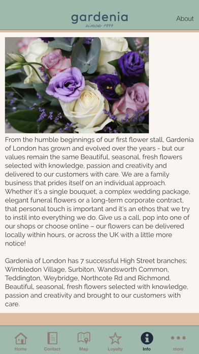Gardenia of London App screenshot four