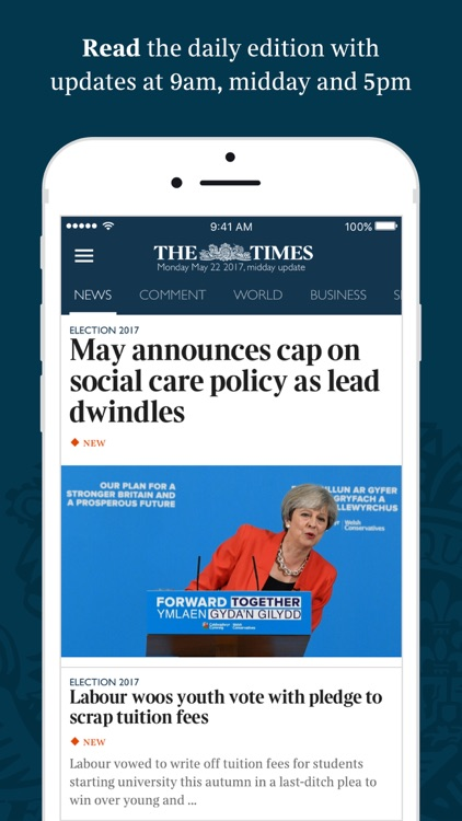 The Times & The Sunday Times: World News & Sport