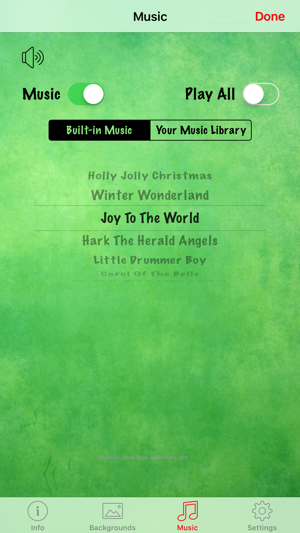 Christmas Countdown w/Music on the App Store