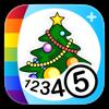 Coloriages numérotés - Noël + - Kedronic UAB