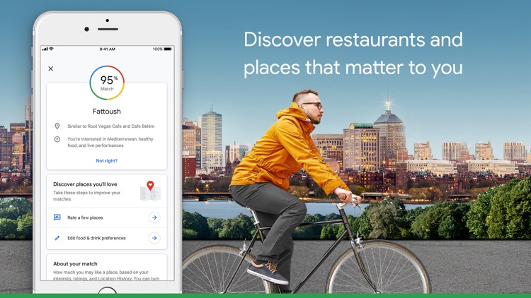 Google Maps - Transit & Food screenshot-3