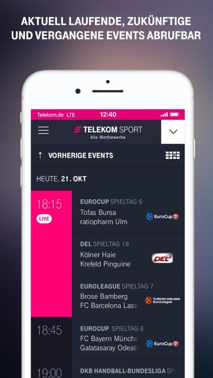 Telekom Sport screenshot-4