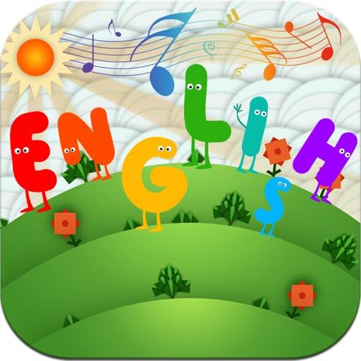 宝宝学英语 - 幼儿英语大全 (有声版) -  歌曲,故事,顺口溜,童话等 icon