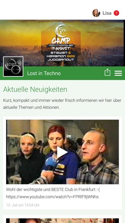 Lost in Techno - Events