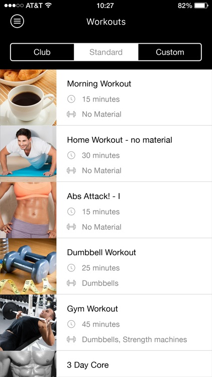 Burn2shape personal training