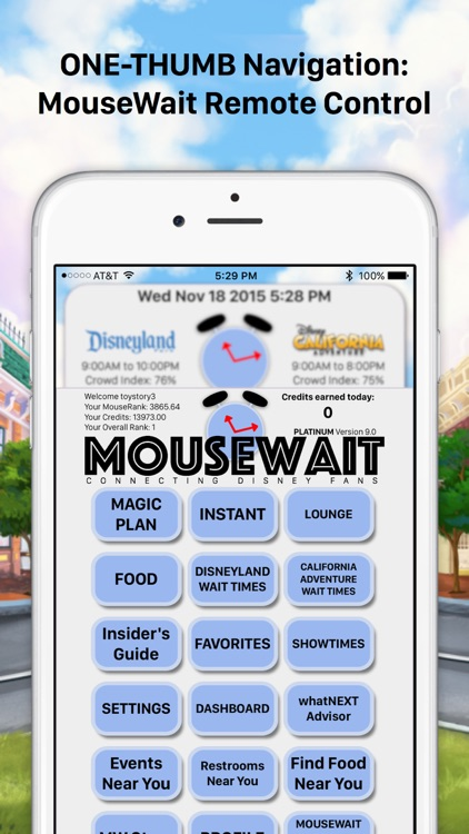 MouseWait Disneyland PLATINUM screenshot-3