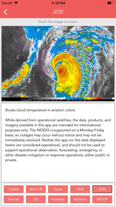 Typhoon Tracker (台風 태풍 台风) screenshot 7