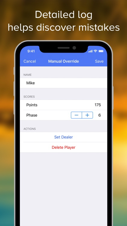 Phase 10 Score Keeper Pro screenshot-4
