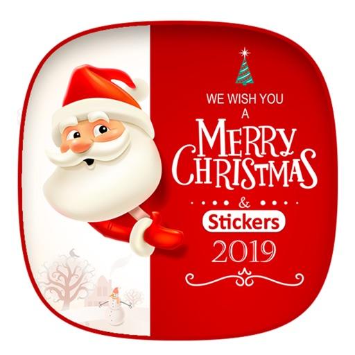 Emoji Christmas Santa