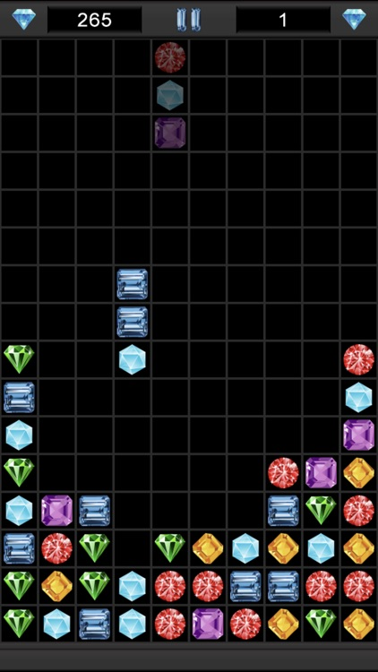 Columns - Falling Jewel Match screenshot-0