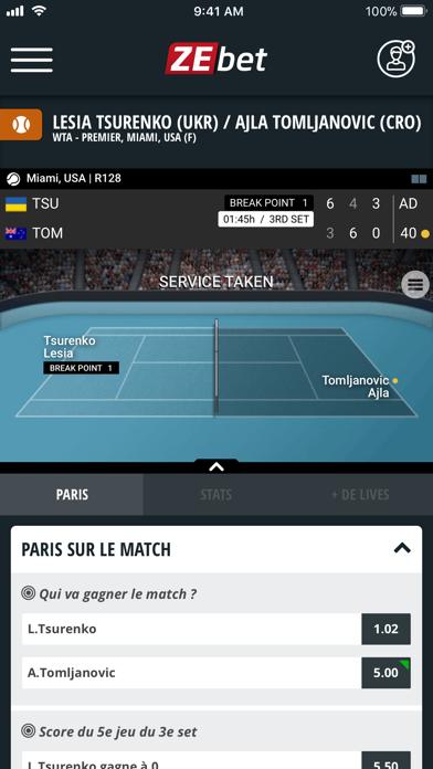 download ZEbet - Paris sportifs apps 4