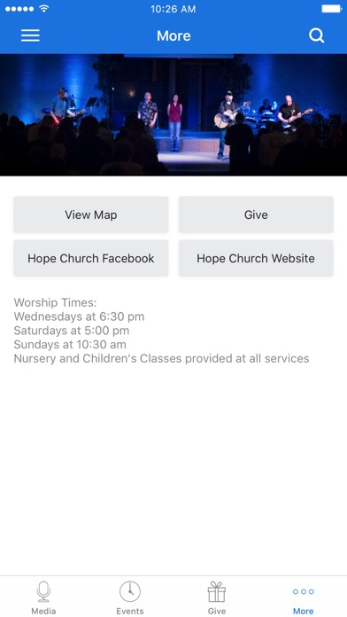 Hope Church Blaine App screenshot 3