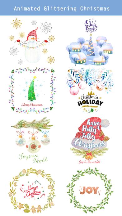 Animated Glittering Christmas screenshot two