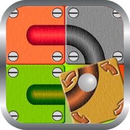 Unroll Ball Path Puzzle