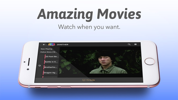 Zenither - Watch TV and Movies