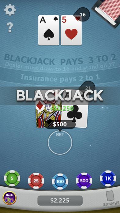 Blackjack ◇ screenshot 2