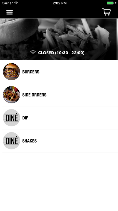 DINÉ Burgers Screenshot