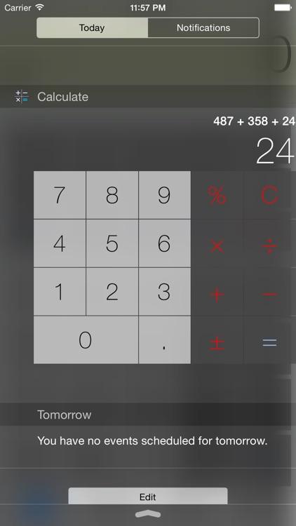 Calculator Silver