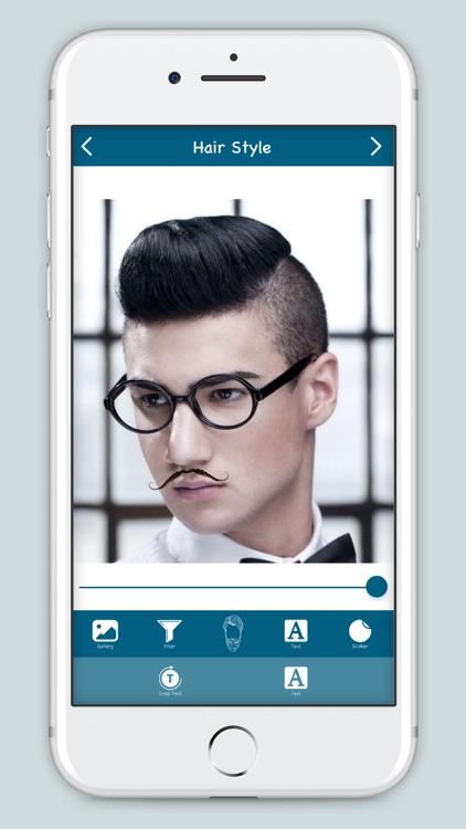 Men Hair Style : Hair Salon screenshot-3