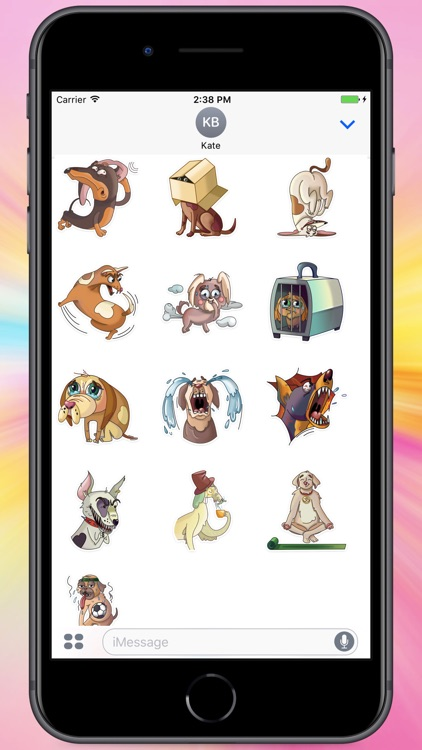 Lots of Dogs Stickers