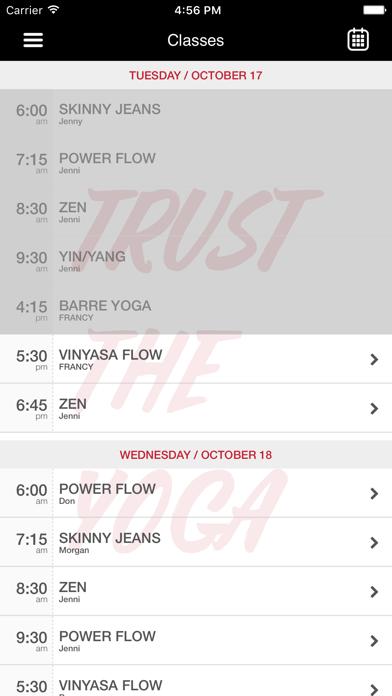 Red-Yoga screenshot four