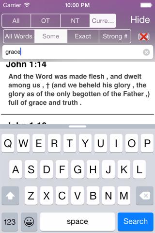Touch Bible: KJV + Strongs screenshot 4