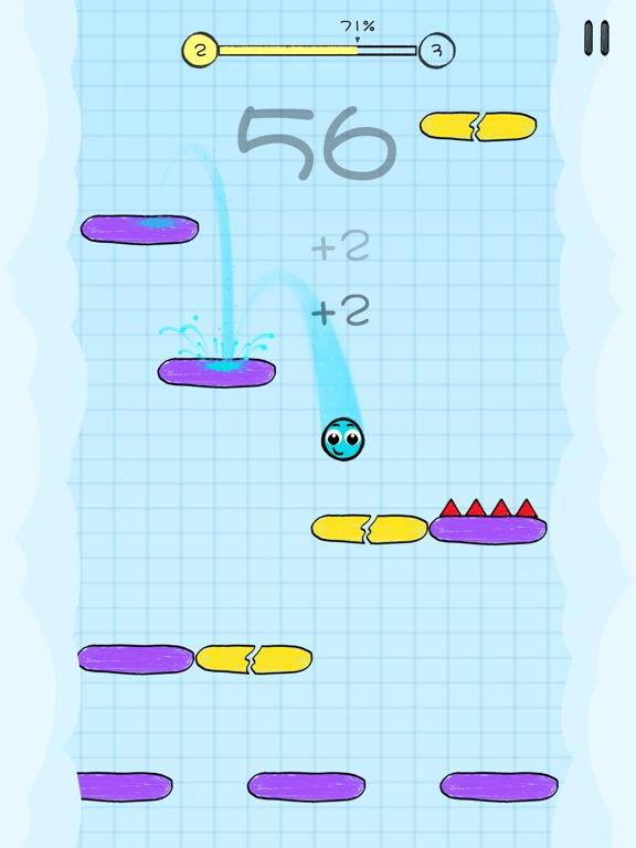 Bounce Down™ screenshot 2