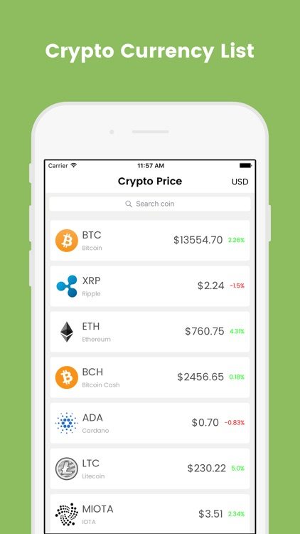 Crypto Price screenshot-1