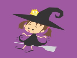 Welcome to Halloween this year with Angel Halloween sticker  for iMessage are nice collection  in iPhone and iPad to Chat funny with friends