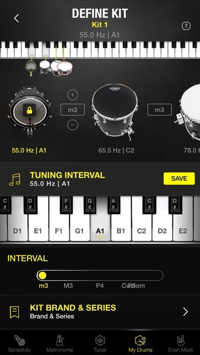 Drumtune PRO | Drum Tunerスクリーンショット