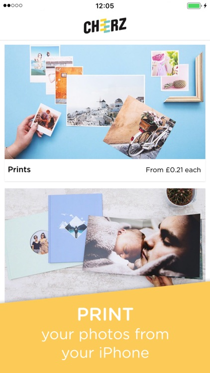 CHEERZ - Photo Printing screenshot-0