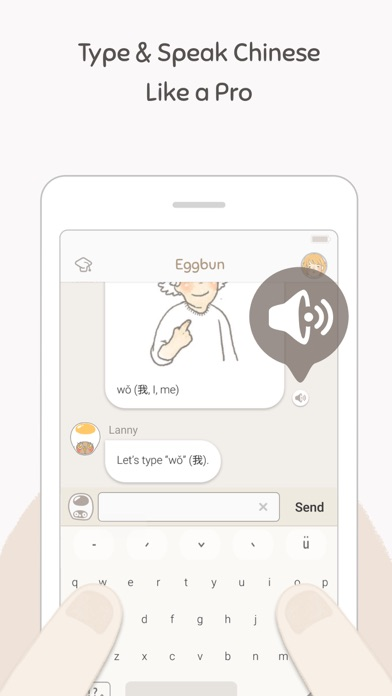Eggbun: Chat to Learn Chinese - App Download - Android Apk