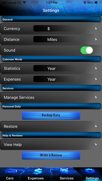 Car Xpenses - Car maintenance screenshot-6