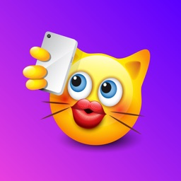 Cute Cats Emojis Stickers Pack