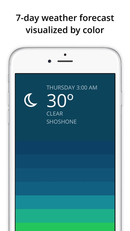 Blue - weather forecast screenshot-0