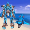 Dolphin Robot Transform Sims