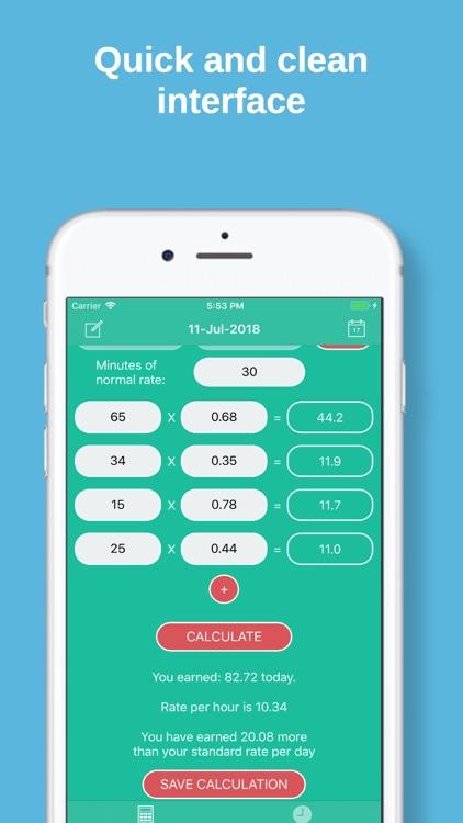 PiecePay: Piecework Calculator
