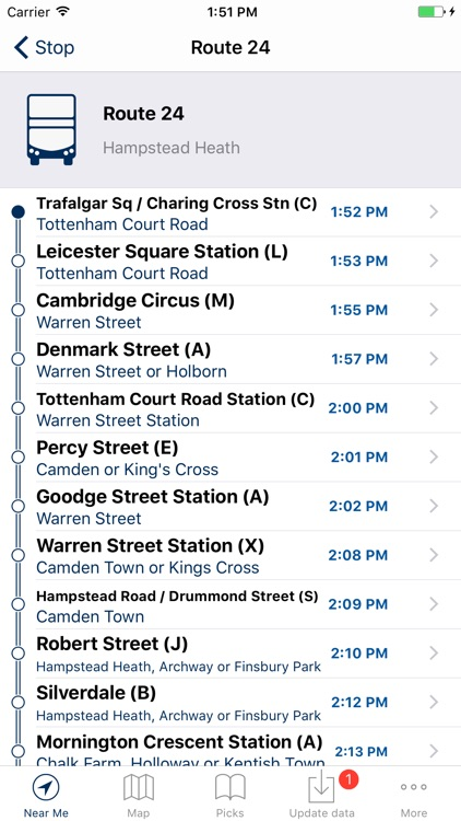 London Bus Live Departures screenshot-3