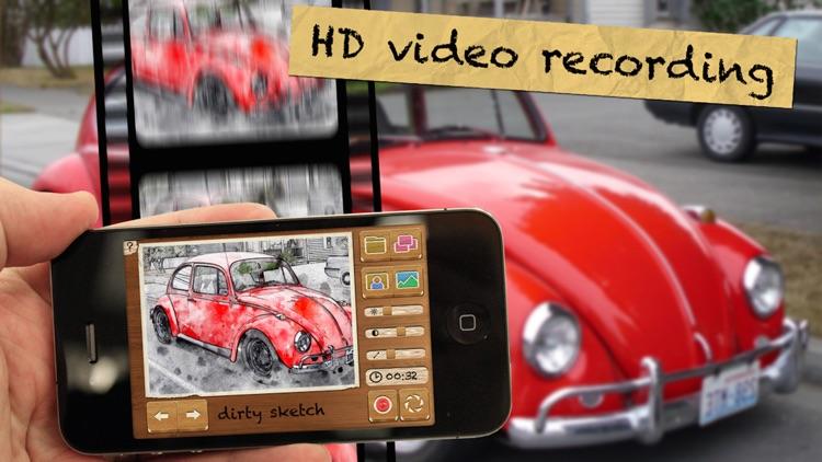 Pencil Camera HD Lite screenshot-3