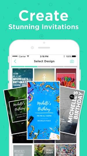 Hobnob invitations text rsvp on the app store screenshots stopboris Choice Image