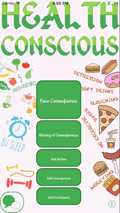 Health Conscious screenshot one