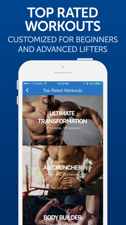 Fitness Buddy: Gym Workout & Home Exercise Trainer