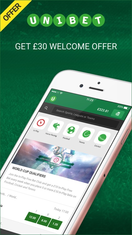 Unibet Sports Betting screenshot-0